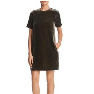 NWT Kenneth Cole New York Velvet T-Shirt Dress